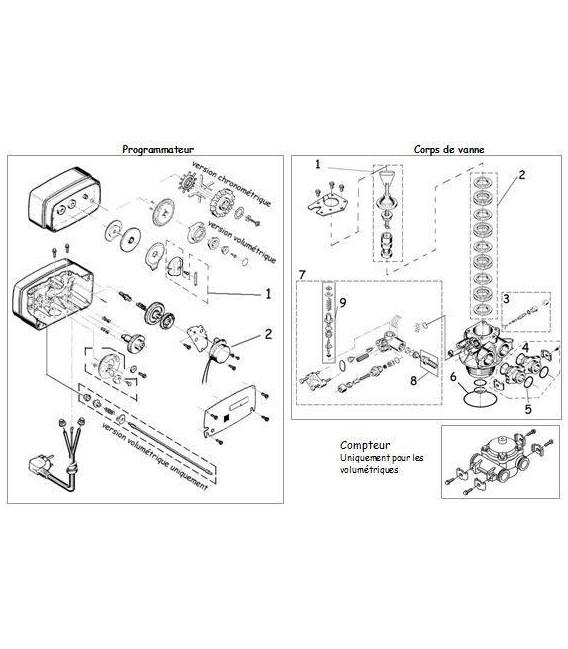 Joint de cage pour piston central fleck 5600