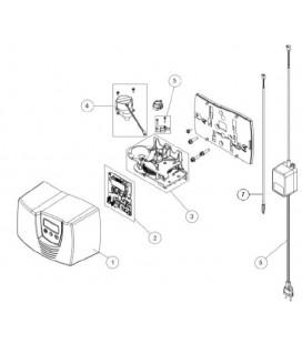 Kit de réduction DN32/DN25 pour fleck 7700 SXT