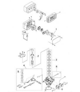 pi ces d tach es pour vanne fleck 5600 sxt adoucisseur eau. Black Bedroom Furniture Sets. Home Design Ideas