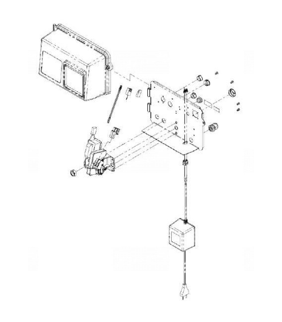 DLFC assemblé 10 GPM 1'' pour fleck 2850 SXT