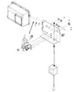 Guide pour cable compteur fleck 2910
