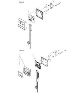 Clip de fixation capot pour fleck 9500