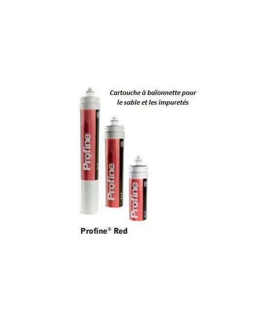 Cartouche encapsulée sédiment profine RED Medium
