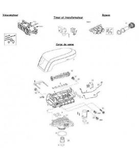 Goupille de sécurité moteur