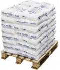 Sel pastille pour adoucisseur d'eau en palette de 40 sacs de 25Kg