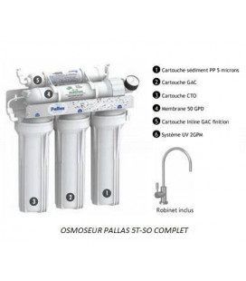 Osmoseur PALLAS 5T-SO Shut Off