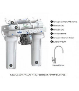 Osmoseur PALLAS 4T50 Permeat Pump
