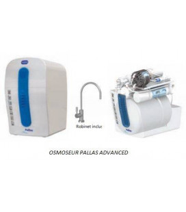 Osmoseur compact PALLAS ADVANCED permeat pump