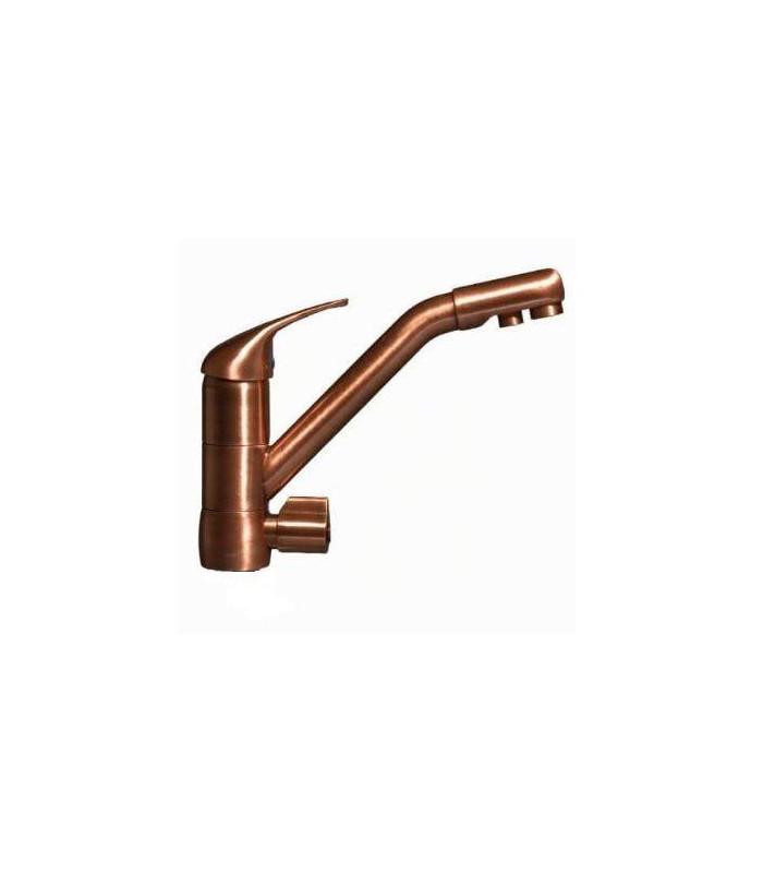 robinet mitigeur dauphin 3 voies cuivre adoucisseur eau. Black Bedroom Furniture Sets. Home Design Ideas
