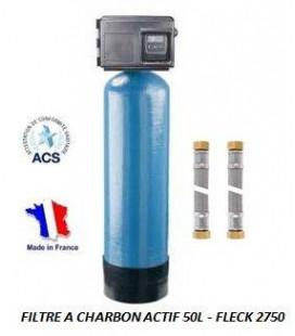 Filtre à charbon actif 50L