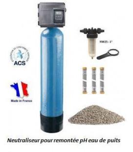 Neutraliseur pH 100L Fleck 5600