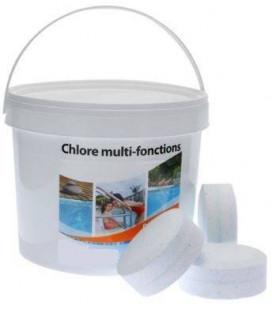 Chlore multifonction en galet 5 Kg