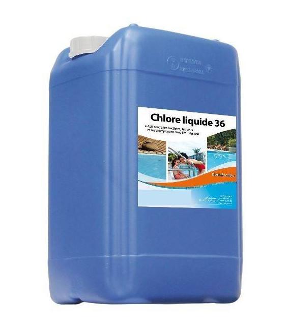 Chlore liquide 36°