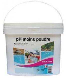 pH moins en poudre 5 Kg