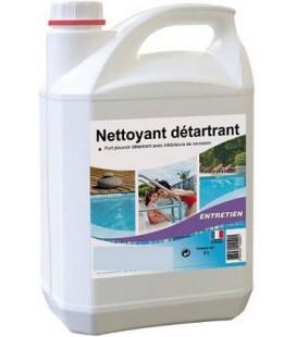 Nettoyant et détartrant piscine