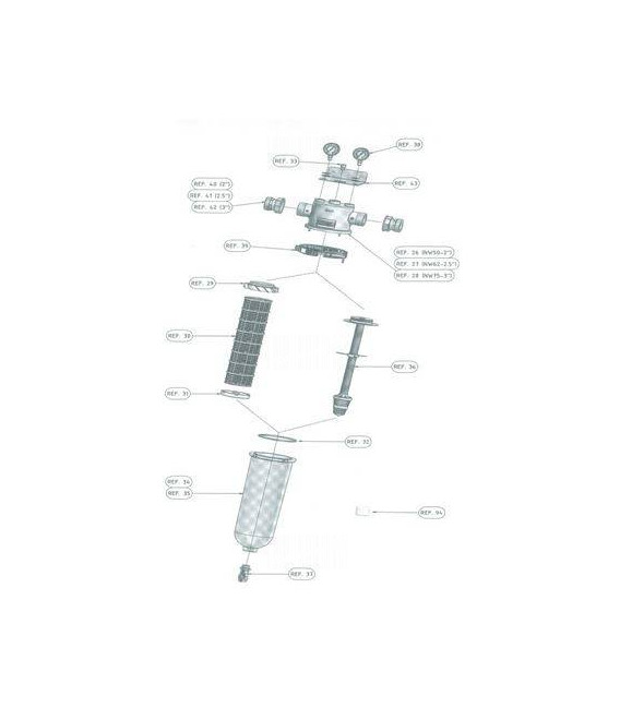 Cloche transparente NW50/62/75