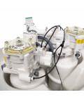 Adoucisseur d'eau sans électricité et ultra compact - Delta Duplex complet avec accessoires