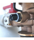 Adoucisseur d'eau 25L Fleck 4600 MC eau chaude complet avec accessoires