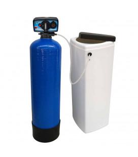 Adoucisseur d'eau bi bloc 14L vanne Fleck 5600 mecanique chronometrique