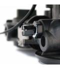 Adoucisseur d'eau bi bloc 25L vanne Fleck 5600 mecanique volumetrique complet avec accessoires
