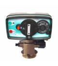 Adoucisseur d'eau bi bloc 75L vanne Fleck 4600 mecanique volumetrique eau chaude