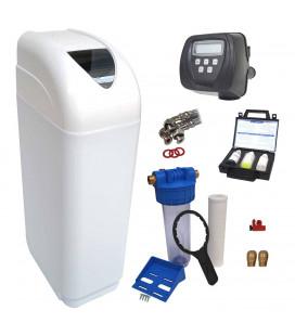 Adoucisseur d'eau 4L Clack WS1 complet avec accessoires