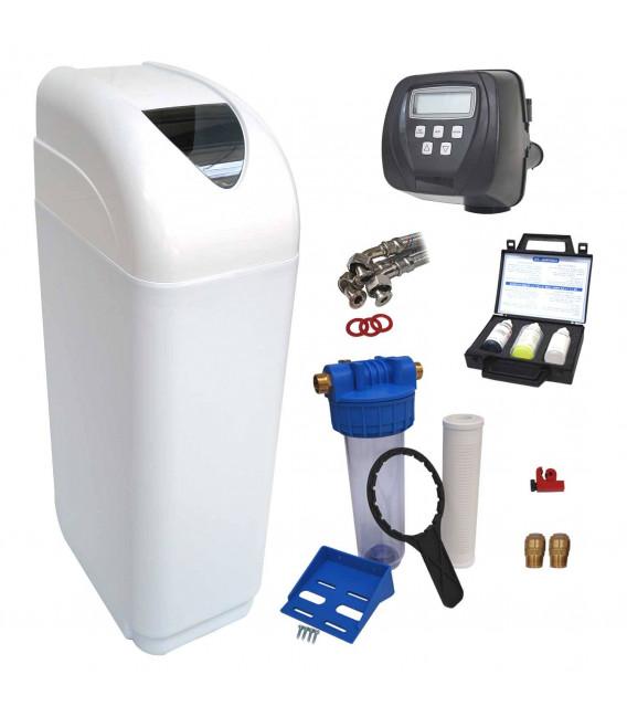 Adoucisseur d'eau 10L Clack WS1 complet avec accessoires