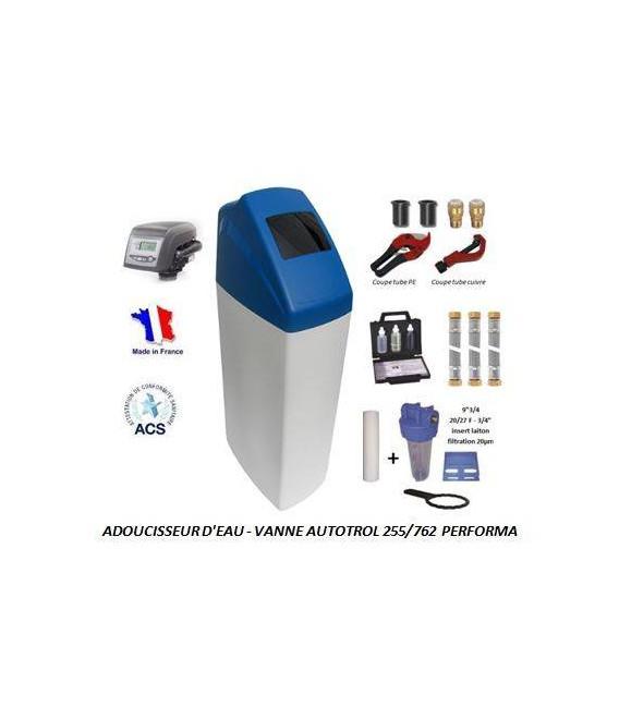 Adoucisseur d'eau 25L Autotrol 255/762 complet avec accessoires