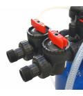 Adoucisseur d'eau 25L Clack WS1 complet avec accessoires