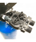 Adoucisseur d'eau bi bloc 25L vanne Fleck 5600 mecanique chronometrique complet avec accessoires