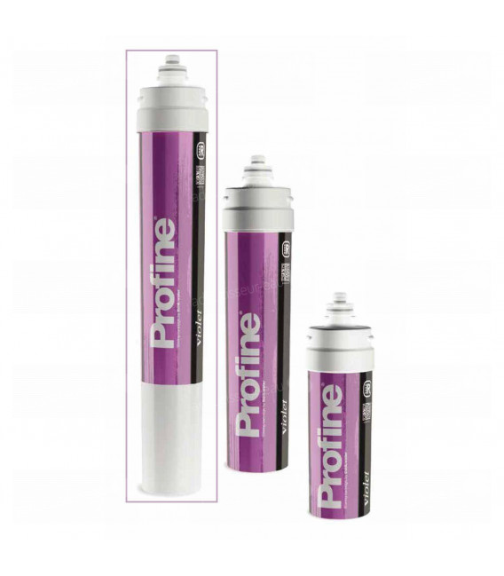 Cartouche encapsulée decarbonatation profine VIOLET Large