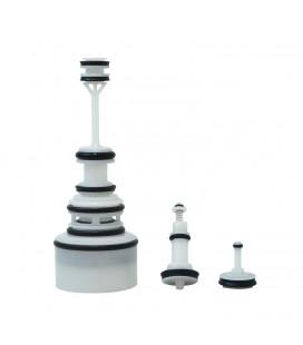 Ensemble kit piston pour adoucisseur d'eau ultra compact sans électricité
