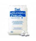 Sel pastille pour adoucisseur d'eau en sac de 25Kg