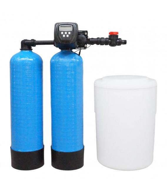Adoucisseur d'eau duplex 2x14L Clack WS1TT