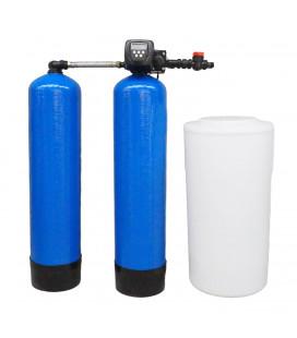 Adoucisseur d'eau duplex 2x100L Clack WS1TT