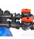 Adoucisseur d'eau duplex 2x150L Clack WS1TT complet
