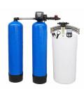 Adoucisseur d'eau duplex 2x225L Clack WS1TT complet