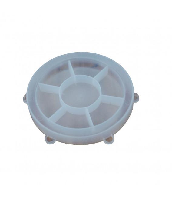 Couvercle PVC NW50/62/75