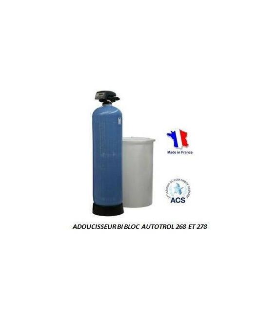 adoucisseur d 39 eau bi bloc 50l autotrol performa 268 740 adoucisseur eau. Black Bedroom Furniture Sets. Home Design Ideas