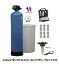 Adoucisseur d'eau bi bloc 200L Autotrol Performa 278/762 complet
