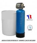 Adoucisseur d'eau bi bloc 100L Clack WS100V