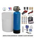 Adoucisseur d'eau bi bloc 150L Clack WS100V complet