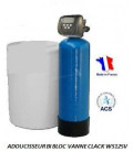 Adoucisseur d'eau bi bloc 50L Clack WS125V